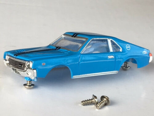 NOS AW #43 1969 Ford Torino Petty Thunderjet HO Slot Car Body Fits Aurora Dash
