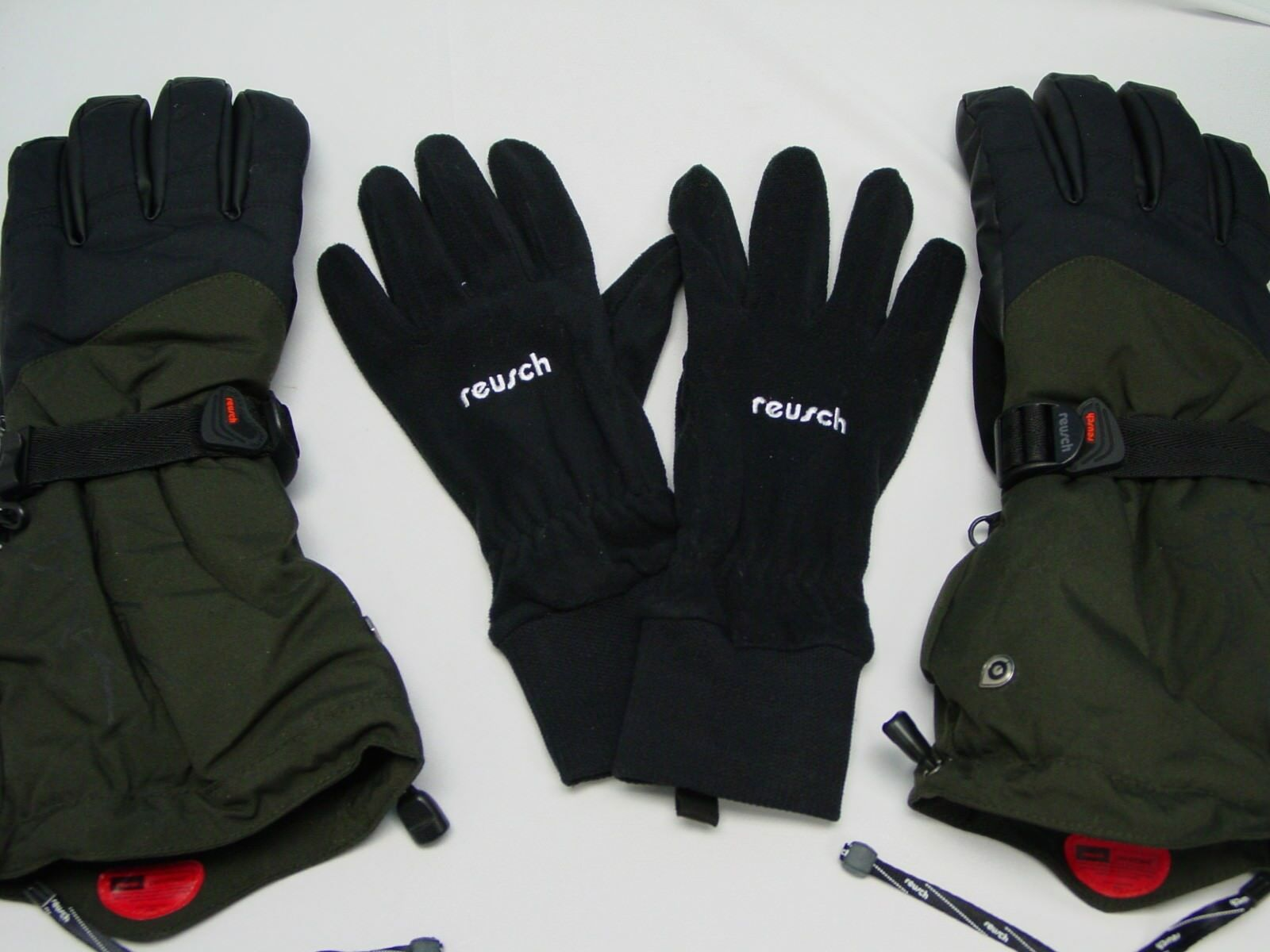 Wasserfest 3 Handschuhe in 1 Reusch Snowboard Ski Medium 8.5 Kombo 2890206