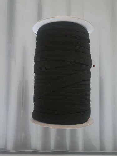 3m of Waist band Elastic Black 12mm haberdashery dress sew costume