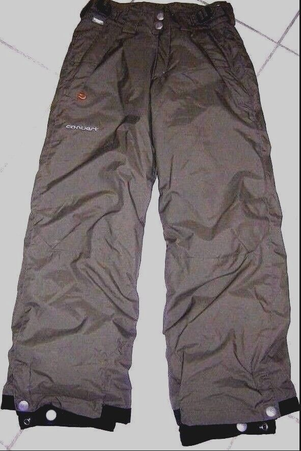 COLUMBIA Congreen Unisex Youth 8 Olive Green Snowboarding Ski Snow Pants