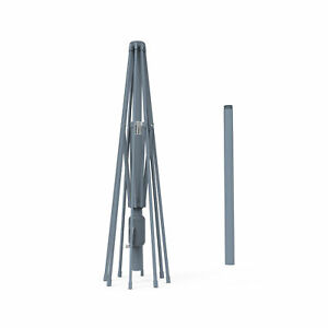 Sonnenschirm Gartenschirm Schirm Gestell 3,5m rund Aluminium Anthrazit B-Ware