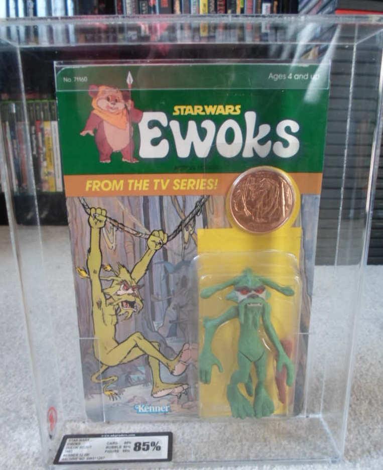 Estrella Wars Ewoks dibujos animados 85% graduales dulok Scout clasificados figura retorno Jedi