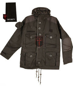 Security-military-SAS-Smock-Parker-combat-tactical-black-assault-hood-jacket