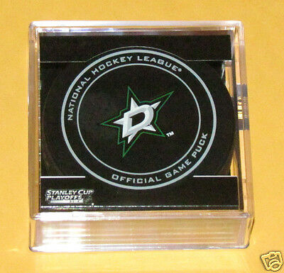 DALLAS STARS 2014 Stanley Cup Playoffs OFFICIAL GAME PUCK NEW Team Logo