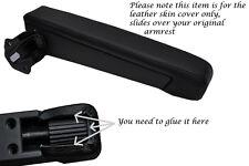 BLACK STITCH FITS FIAT DUCATO PEUGEOT BOXER 07-13 1X DRIVER ARMREST LTHR COVER