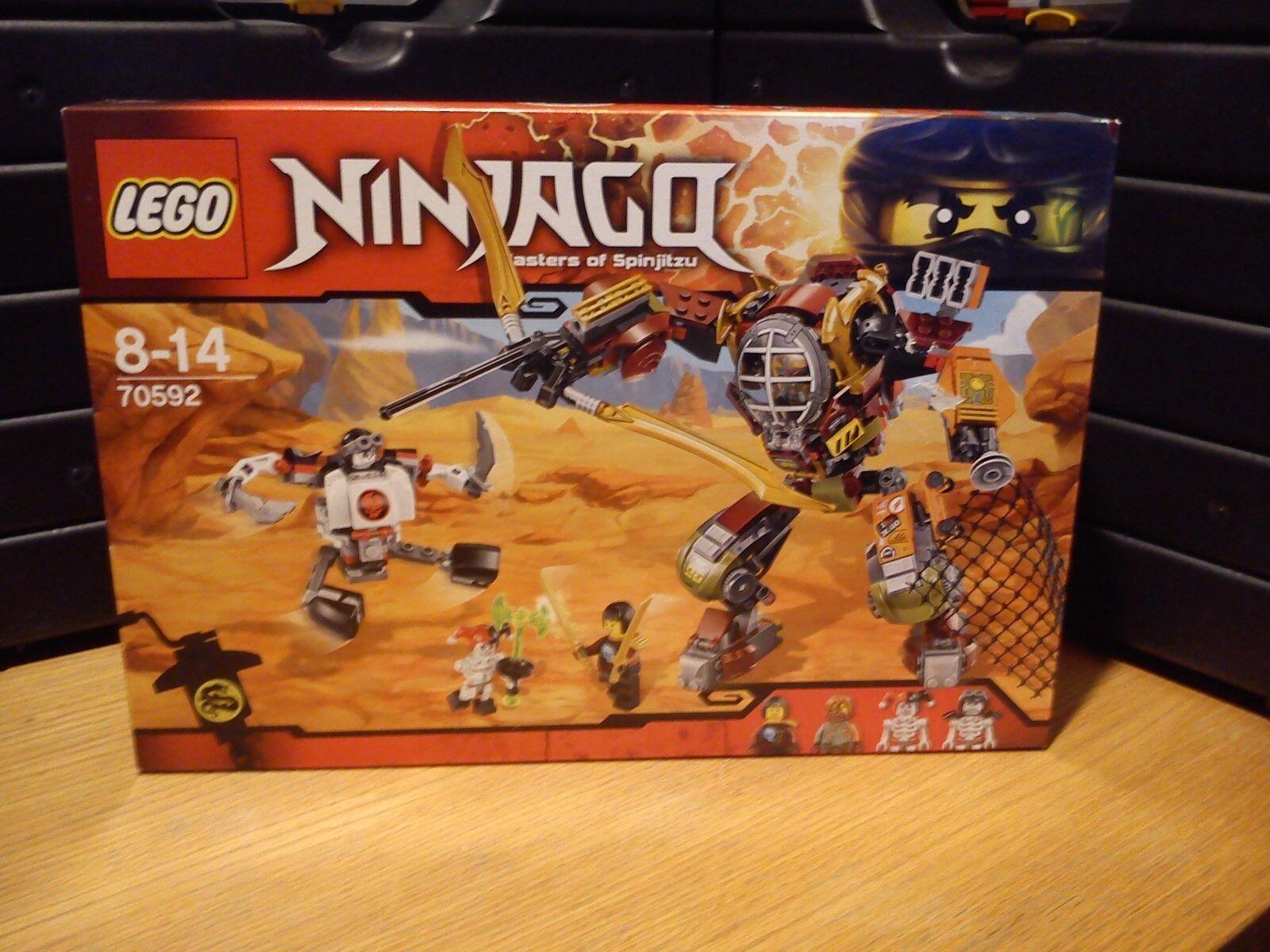 Lego Ninjago 70592 Le robot de Ronin (New & Sealed)