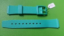 BRACELET MONTRE  /// watch band PVC /16/20mm / VERT  / BN16 ATTENTION COULISSANT