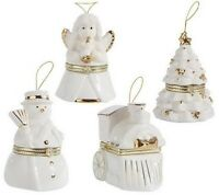 Mr. Christmas Set Of 4 Gold Edition Music Box Ornaments Check For Color H189401