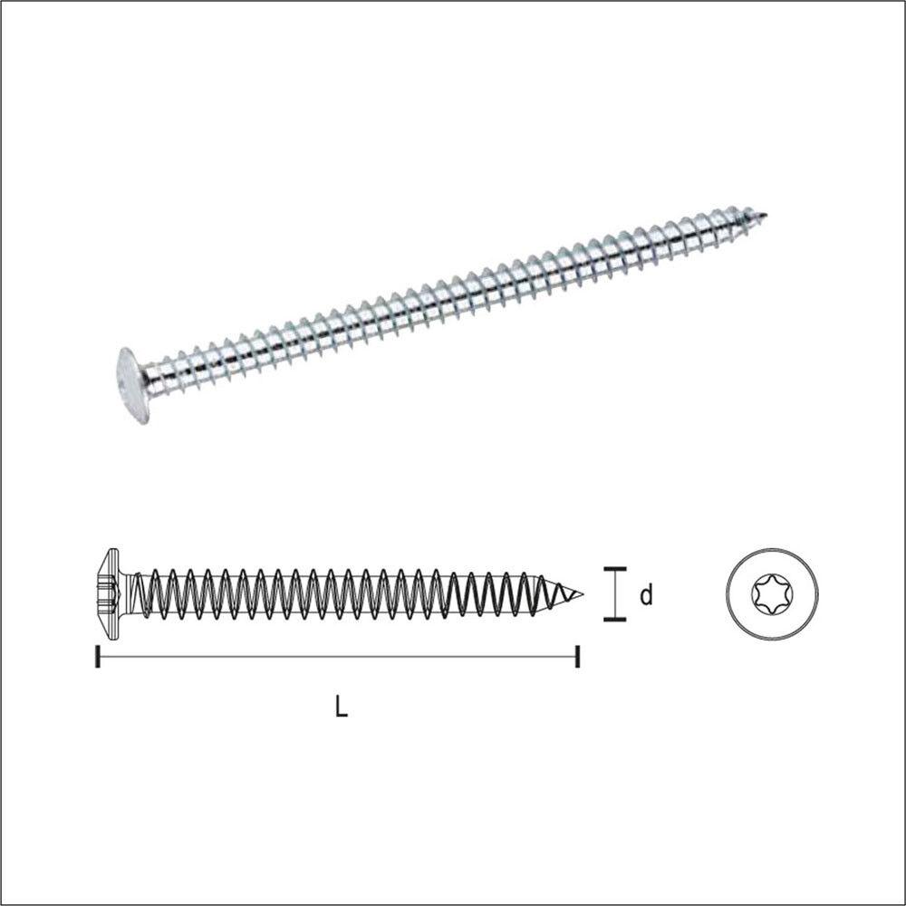 GrünteQ Fensterschrauben Zylinderkopf-, Flachkopf - Schrauben 72 - 252mm |   | Deutschland Store  | Authentische Garantie  | Feinen Qualität