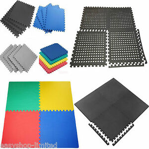 INTERLOCKING-EVA-SOFT-FOAM-EXERCISE-FLOOR-MATS-GYM-GARAGE-HOUSE-OFFICE-MAT