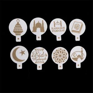 8pcs-set-Mosque-Eid-Mubarak-Ramadan-Design-Coffee-Stencils-Cake-Templates-YK