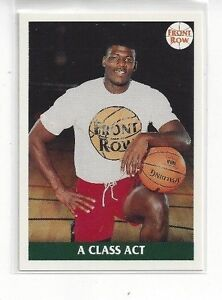 Image Is Loading 1991 FRONT ROW BASKETBALL LARRY JOHNSON 47 A