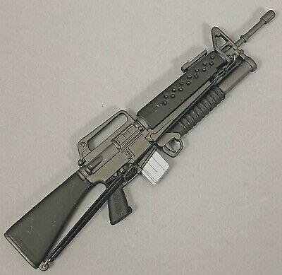 "5 21ST CENTURY TOYS M16 RIFLE GRENADE LAUNCHER FOR 1//6TH SCALE OR 12/"" FIGURES"