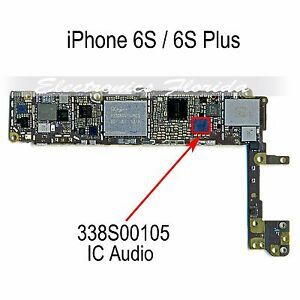 iphone 6 no sound ic 338s00105 audio big ic chip replacement for iphone 6s 3646