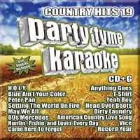 Party Tyme Karaoke Cd - Country Hits 19 (2017) - Unopened