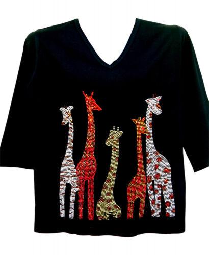maten Crystal Terazzo gebreide 100 Dames Alle Safari katoenen Giraffen 29 trui dqTOwOUxt