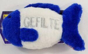 Multipet-Hanukkah-Gefilte-Fish-039-Oy-Vey-039-talking-dog-toy-toys-holiday-gift-B37