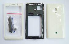White Housing cover Case fascias facia faceplate For Sony Ericsson X10 Xperia