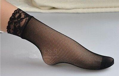 1X Sexy Women Ultrathin Elastic Black Short Socks Stockings Tights Hot Sales