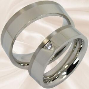 Trauringe-Hochzeitsringe-Verlobungsringe-Eheringe-Edelstahl-Titan-mit-Gravur