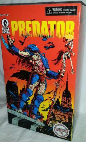 Comme neuf dans emballage scellé NECA predator Dark Horse Comics 25th anniversaire film d/'horreur action figure