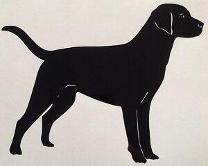 Dog-Labrador-Decal-Sticker-Outdoor-Quality-Vinyl-Colour-Choice-Buy-2-Get-1-Free