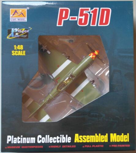 Easy Model p-51d Mustang 362fs 357fg roberson 1:48 nuevo//en el embalaje original avión-modelo WWII