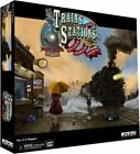 Trains and Stations Board Game - WizKids Played Once