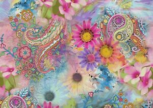 A1-Art-Poster-Of-Persian-Paisley-Pattern-60-x-90cm-180gsm-Boho-Chic-Gift-14378