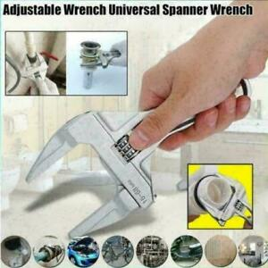 Adjustable-Wrench-Handheld-16-68mm-Large-Opening-Bathroom-Wrench-Spanner-NEU