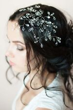 Bridal Crystal Hair Vine Comb Wedding Rhinestone Headband Pin Headpiece Tiara