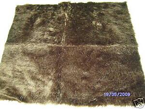 Good-Quality-Brown-Fur-Fabric-18-034-X-20-034-46cm-x-51cm