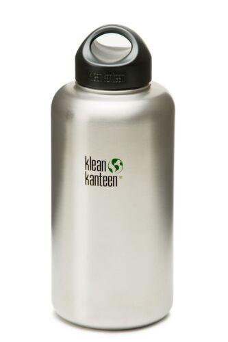 Klean Kanteen Wide 64 oz 1900 ml Stainless Steel Water Drink Bottle