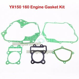 YX150 YX160 Engine Gasket For YX 150cc 160cc Motard Cross Pit Dirt Motor Bike