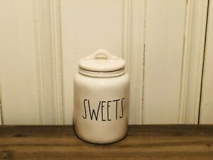 Rae-Dunn-Artisan-Collection-By-Magenta-SWEETS-Farmhouse-Baby-Small-Canister-VHTF