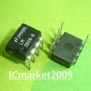 LM380N-8  LM380N8   DIP8   INTEGRATED CIRCUIT