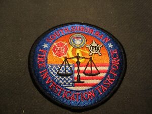 SOUTH SUBURBAN IL FIRE INVESTIGATION TASK FORCE PATCH