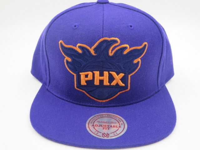 phoenix suns purple throwback mitchell ness nba snapback hat cap. 5c2cedfe3794