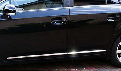 Toyota Avensis, SEDÁN & Combi (T27) - 3M MOLDURAS CROMADAS Varillas de Puerta