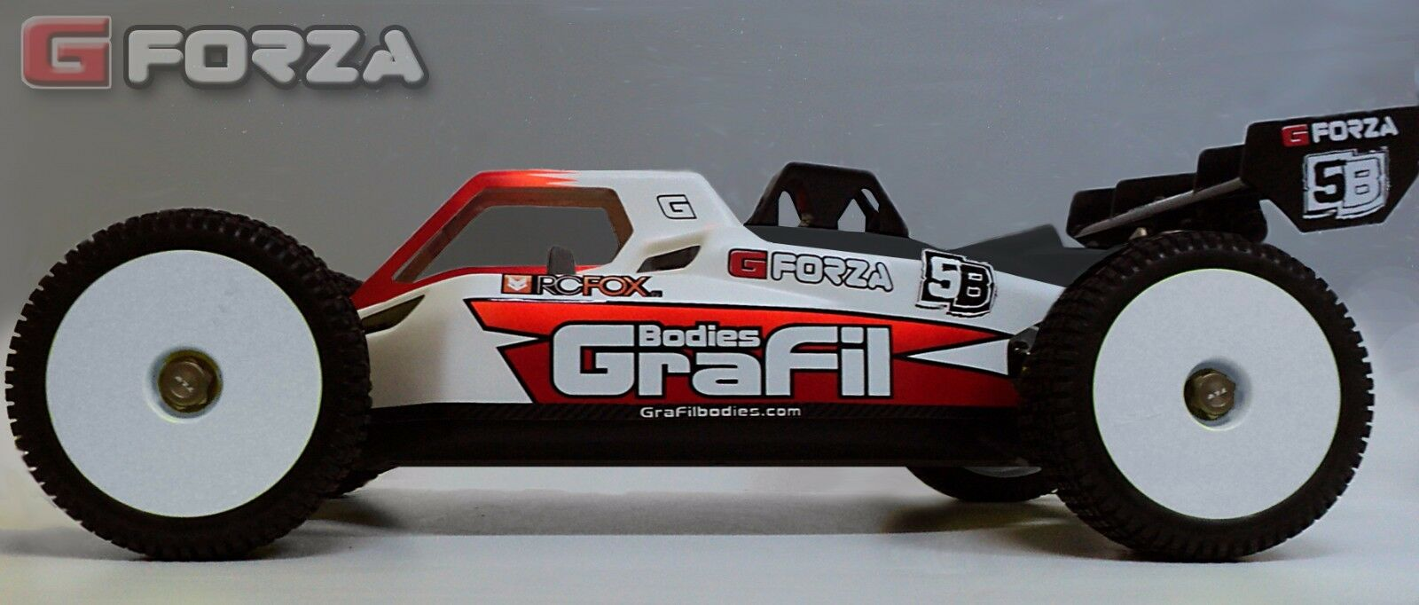 TLR 5ive-B race body - LOSI 5B -  G-Forza  PROMO price by GraFil Bodies