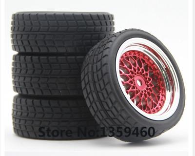 1//10 Onroad Rc Wheels Tires for Hpi Rs4 Sprint2 Kyosho Pureten Fazer Fw05 Fw06