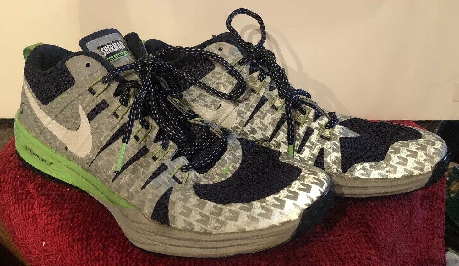 Nike Lunar TR1  Men's Size 11.5 Richard Sherman Seattle Seahawks