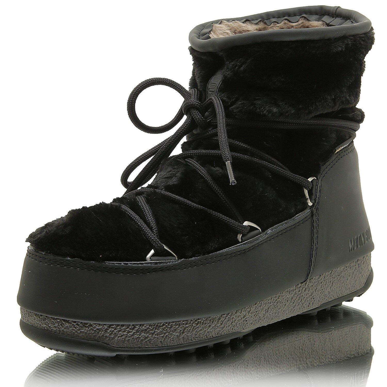 MOON Stiefel W.E. Monaco Low Fur WP 001 schwarz    | Ein Gleichgewicht zwischen Zähigkeit und Härte