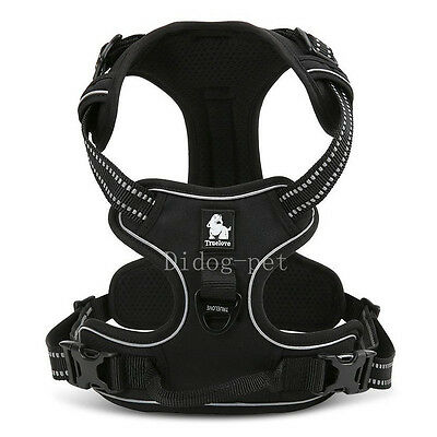 Reflective Front Fastening No Pull Dog Harness Mesh Padded for Medium Large Dogs