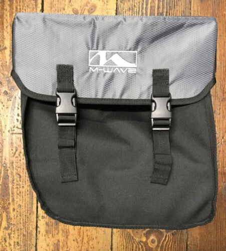 M-Wave Box Style Left Hand Black Hook On Pannier Bag BNWT