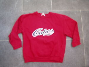Cooles-rotes-Sweatshirt-TCM-Gr-128-Jungs
