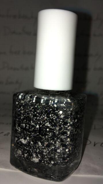 Bari Pure Ice Nail Polish 1157 What\'s The Splatter Black & White Mix ...