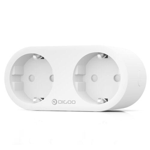 DIGOO DG-SP202 Dual EU Plug Smart WIFI Socket Individual Controllable Energy Mon