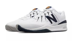 New Balance MC1006BW Men/'s 1006 Black//White Hard Court Tennis Shoes