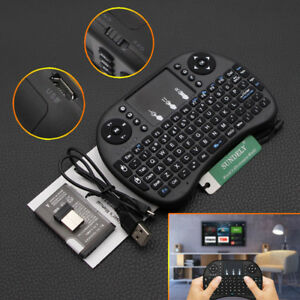 38d7df3de98 2.4GHz Mini Wireless Keyboard Mouse Touchpad For Android Smart TV ...